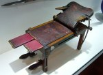 A model of the operating table used by Joseph Lister. Photo by Øystein Horgmo © All rights reserved.