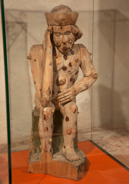Bubonic Plague Figurine The Sterile Eye